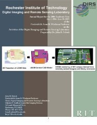 PDF - Digital Imaging and Remote Sensing Laboratory - Rochester ...