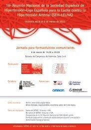 18ª Reunión Nacional de la Sociedad Española de ... - SEFaC