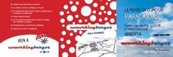 Tríptico CoworkingBurgos - CEEI Burgos