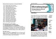Monatsspiegel - Greenmark IT GmbH