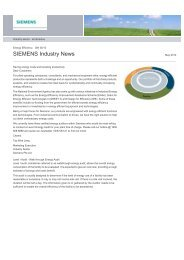 Energy Efficiency - Siemens