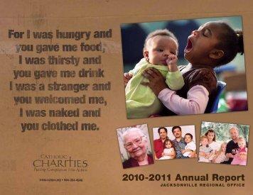 2010-2011 Annual Report - Catholic Charities