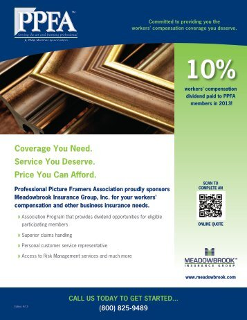 Meadowbrook Insurance Discounts on Workers Comp, business ...