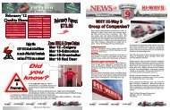 Hi-Way 9 March 2012 Newsletter