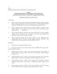 Inpres_1997_1_Program makan Tambahan Anak ... - PTA Makassar