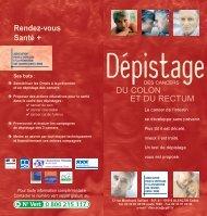 Dépistage des cancers du colon et du rectum - Conseil Général de l ...