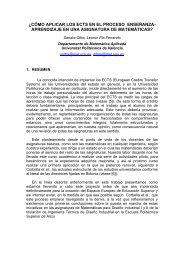 R0169 : ¿Cómo aplicar los ECTS en el proceso enseñanza