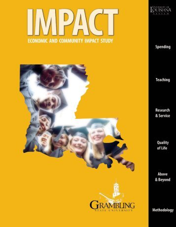 Grambling State University Report (.pdf) - University of Louisiana ...
