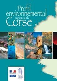 Profil environnemental de la Corse