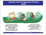 Dynamic Host Configuration Protocol (DHCP) - Laura Jeanne Knapp