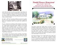 Tindall Pioneer Homestead - Jupiter Inlet Lighthouse and Museum