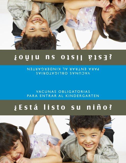 N.C. DHHS: Kindergarten Postcard for Parents (Spanish) - NC.gov