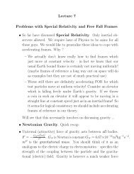 Expanded notes on General Relativity and Black Holes - Physics