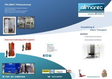 Algemene brochure Allmarec