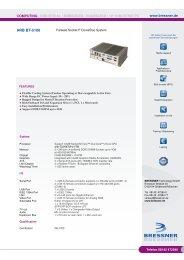ARB BT-5100 Datenblatt - BRESSNER Technology Gmbh