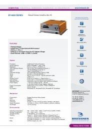 BT-6920 SERIES - BRESSNER Technology Gmbh