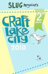 The Do-It-Yourself movement is growing. Artists - Craft Lake City