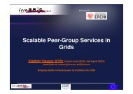 session 4_vlassov.pdf - CoreGRID Network of Excellence