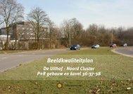 Beeldkwaliteitsplan Noordcluster - Universiteit Utrecht