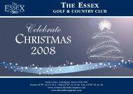 TE Christmas Web Menu - The Club Company