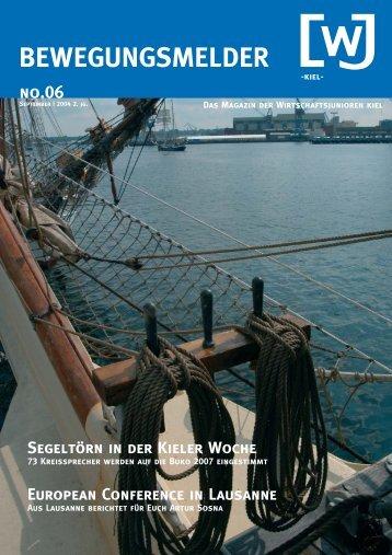 BEWEGUNGSMELDER - Wirtschaftsjunioren Kiel