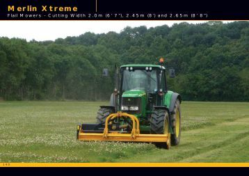 Merlin Xtreme pages from McConnel Product Guide