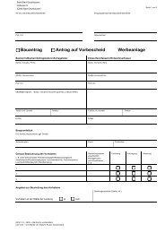 Bauantrag Antrag auf Vorbescheid Werbeanlage - Bad Oeynhausen