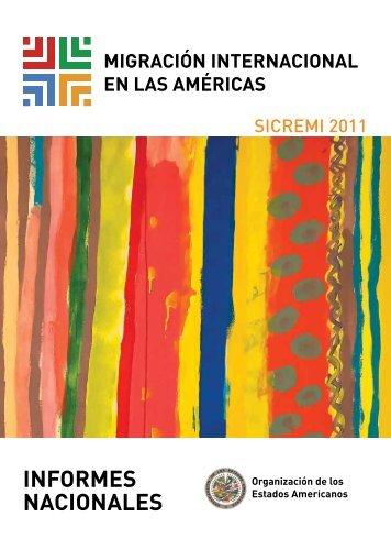 Migración Internacional en las Américas. Primer informe del ... - Acnur