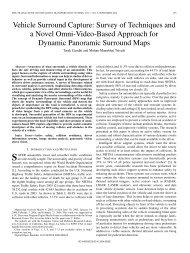 Vehicle Surround Capture: Survey of Techniques and ... - IEEE Xplore
