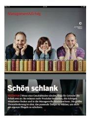 Management/ Erfolg - Streker