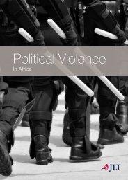 Political Violence in Africa - JLT