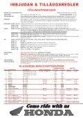 Tilläggsregel 2013 - Ränneslättsloppet - Page 2