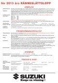Tilläggsregel 2013 - Ränneslättsloppet - Page 3