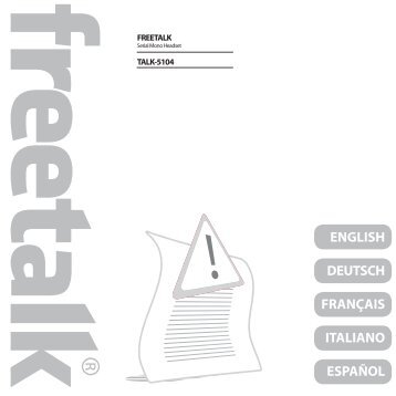 ENGLISH DEUTSCH FRANÇAIS ITALIANO ESPAÑOL - In Store Shop