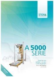 STREMA A 5000 Serie - STREMA Maschinenbau GmbH
