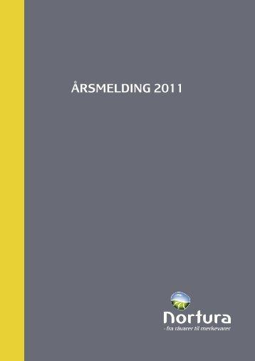 ÅRSMELDING 2011 - Nortura