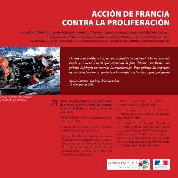No proliferación - France TNP