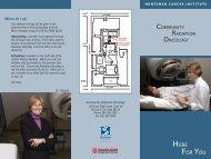 033085 brochure - Huntsman Cancer Institute - University of Utah