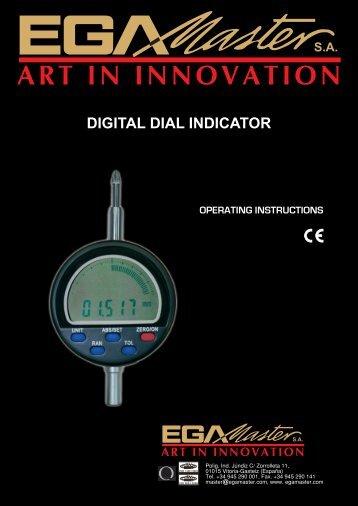 DIGITAL DIAL INDICATOR - Ega Master
