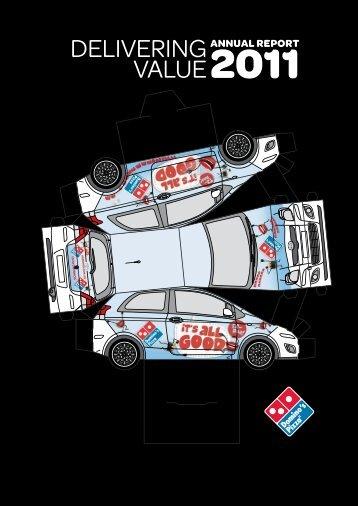 Delivering value - Domino's Pizza