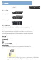 YOTTA III Series RAID System RAID Feature Highlights ... - que Video