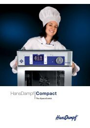 HansDampf Compact - CEC Catering Equipment Co Ltd