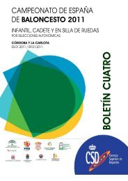 BOLETIN 4 - Federación Andaluza de Baloncesto
