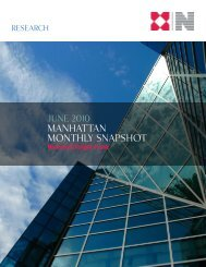 Manhattan Monthly Snapshot - Newmark Knight Frank