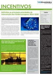 veja aqui a newsletter - Newsletter Incentivos - Vida Económica