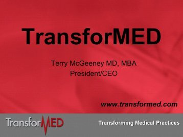 TransforMED - About Medical Home