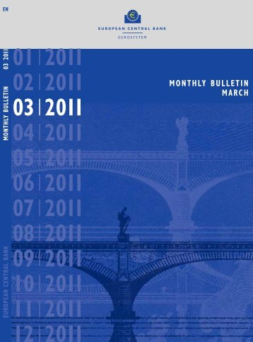 Monthly Bulletin March 2011 - ECB - Banque de France