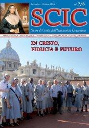 In CrIsto, FIduCIa e Futuro - Suore di Carità dell'Immacolata ...