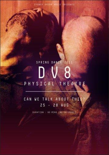 DV8 Physical Theatre Program Notes - Sydney Opera House