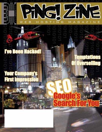 SEOGoogle's Search For You - Ping! Zine Web Tech Magazine